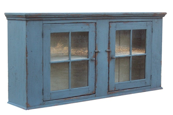 Early American Furniture Reproductions ... wall cupboard farmhouse kitchen cabinet Early American reproduction