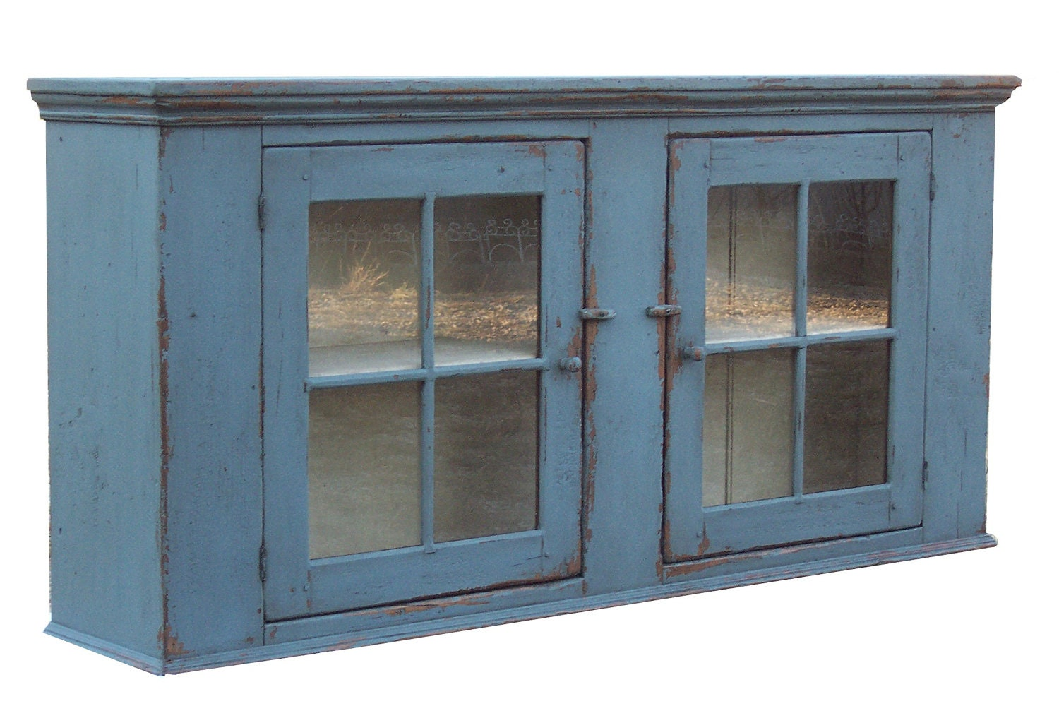 Primitive Kitchen Wall Cabinets