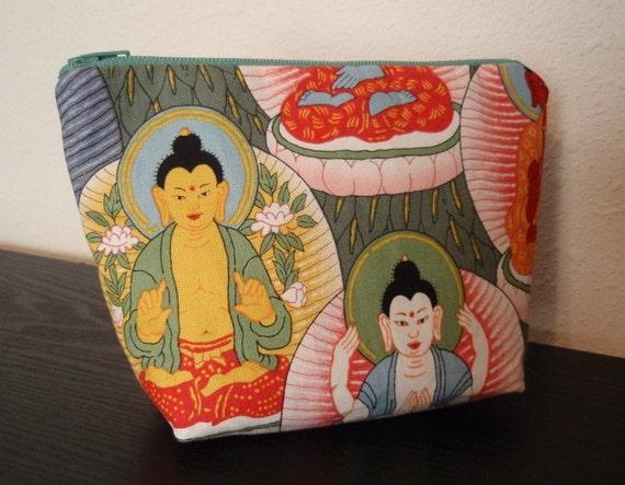 Buddha Zipper Pouch