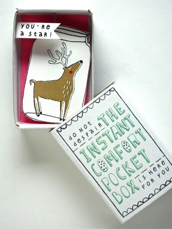 Instant Comfort Pocket Box - Dear deer