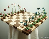 Origami Bonsai Chess Set V