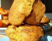 Aunt Helen's Pumpkin Muffins - ONE DOZEN (12 muffins)