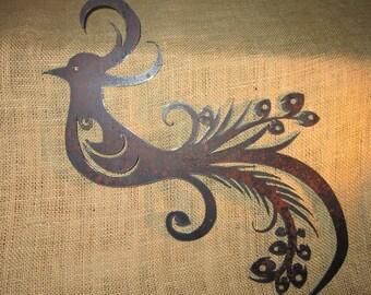 Peacock- Metal Art