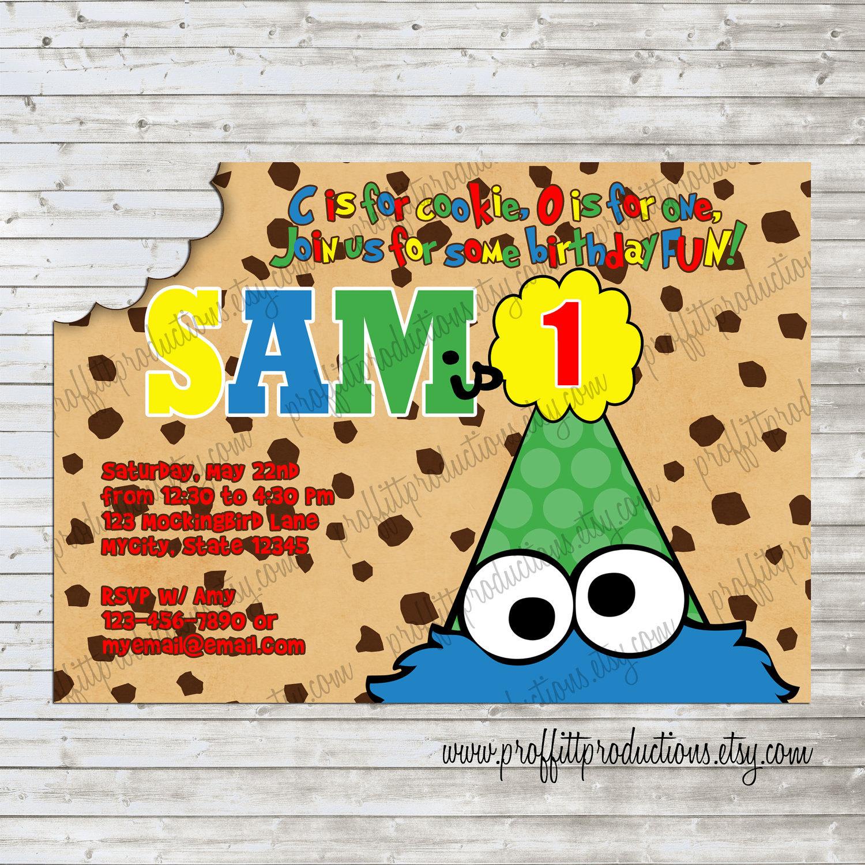 Sesame Street Invitation was great invitations sample