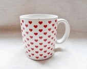 EVERYday is LOVEday 5 DOLLAR SALE-little red hearts, hearts, hearts mug