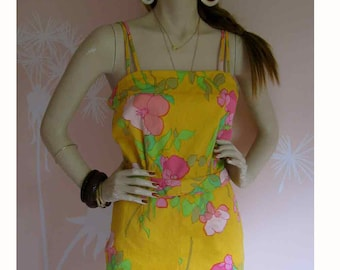 Pinup Girl AMAZING Vintage 1960s Romper