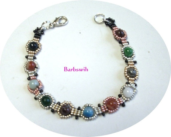 Handwoven Earth Elements Bracelet