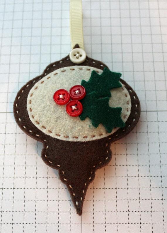 DIY Happy Holly-Days Felt Ornament KIT