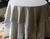 French Blue--TABLECLOTH 54 inch square