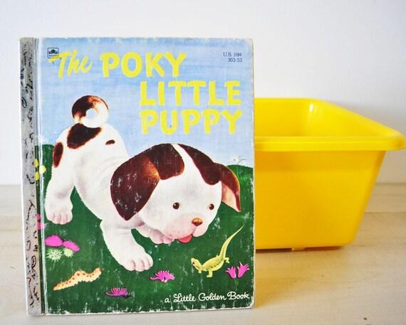 a little golden book--the poky little puppy edit