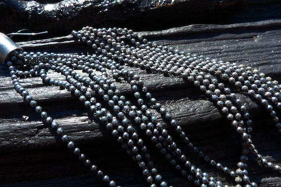 silver chain earrings, Brazilian jewelry