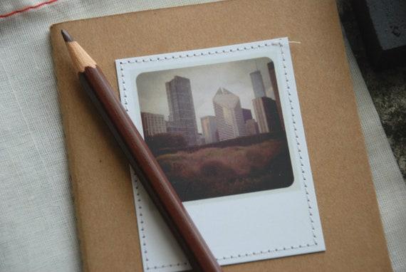 PND Chicago Skyline Stitched Moleskine Notebook