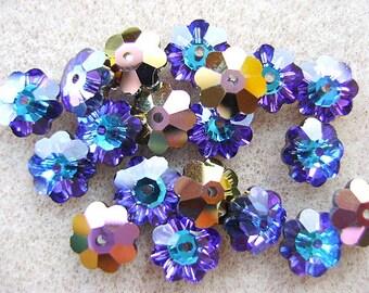 Beads, SWAROVSKI, 8mm, Margarita, HELIOTROPE, Art 3700