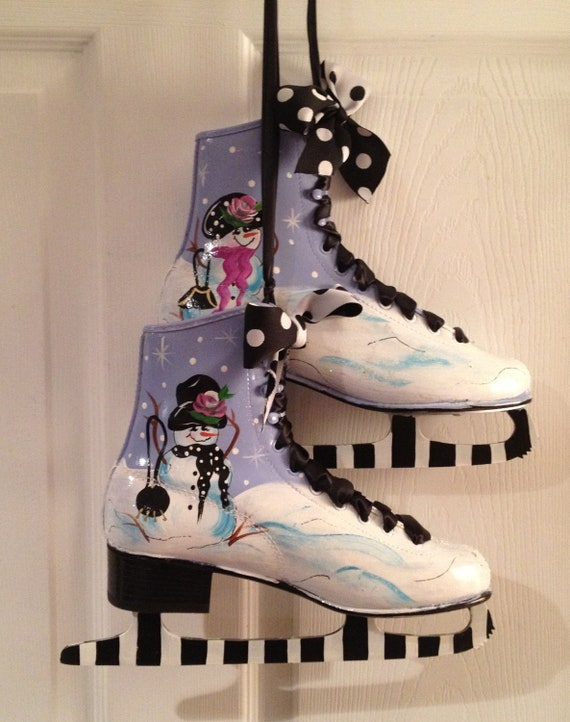 how to make fake ice skates