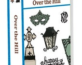Cricut Over the Hill cartridge- factory sealed, never opened