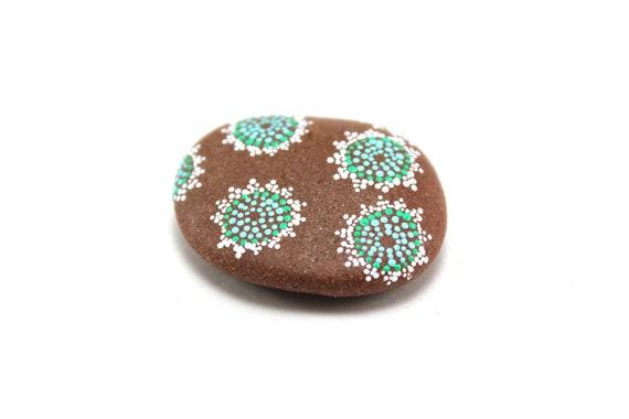 Lichen / Alaska Series / Painted Stones by Amy Komar