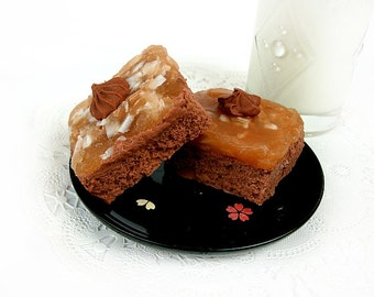 German Chocolate Cake - Deluxe Soap Bar