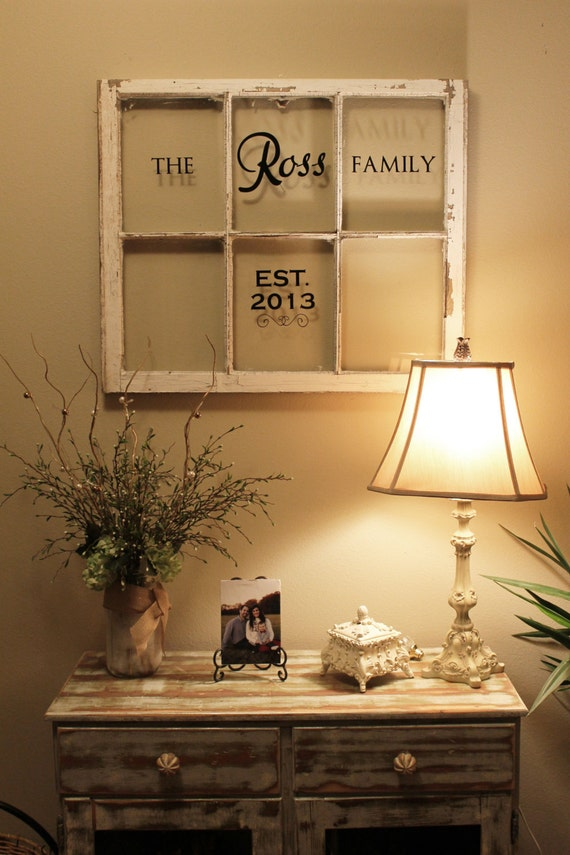 Items similar to Personalized Antique Old Windows on Etsy