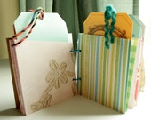 Sale - Recycled Smash Book - Photo Pockets with Tags and Bonus Kit By DetailsDelights