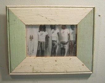 Shabby Architectural Salvaged Reclaimed Wood photo Picture Frame 4 X 6 S 552-12
