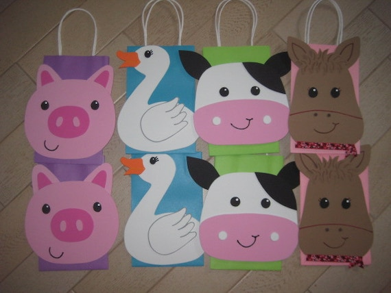 RESERVED LISTING for jweinstein28 - Farm Animals Bags