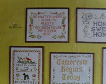Embroider Sampler kit New