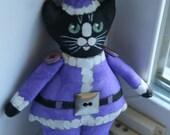 Special order for Greyt of greytlife  2 custom kitty Santas