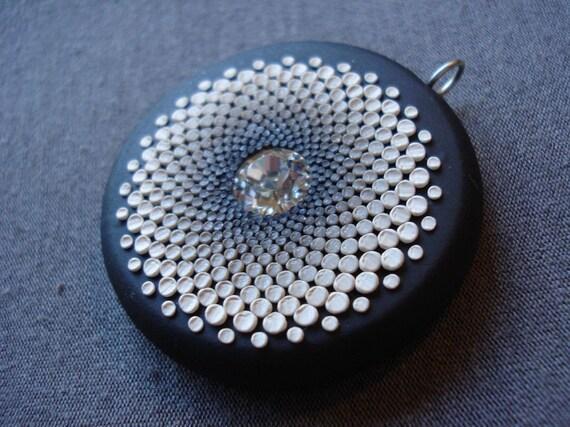 midnight kaliedescope pendant