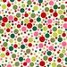 Christmas Fabric Play Dot in Santa by Michael Miller Fabrics 1/2 Yard