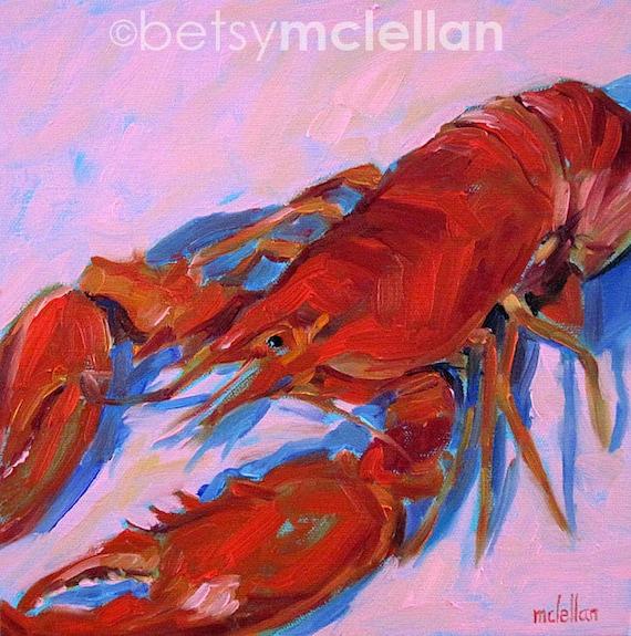 Lobster - Lobster Art - Giclee Print