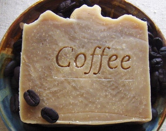 Coffee Butter Shampoo Bar with Jojoba - Vegan Shampoo Bar