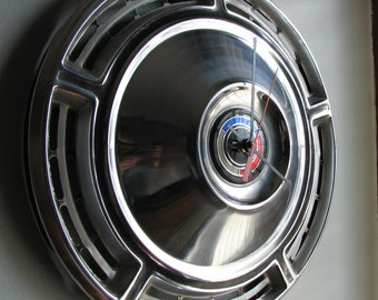 1968 Chevy Chevelle Hubcap Clock no. 2424