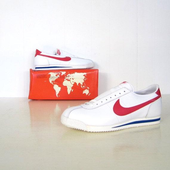 Vintage Nike Shoes 1982 Leather Cortez Deadstock Mib