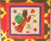 I Believe in Angels Number 15 art quilt