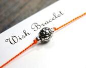 Soccer Ball - Sports Themed - Wish Bracelet