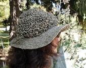 Sage Green Wide Brim Traveling Crunch Hat Unisex