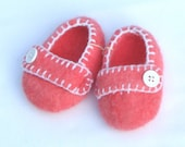 Hand Felted Baby Booties