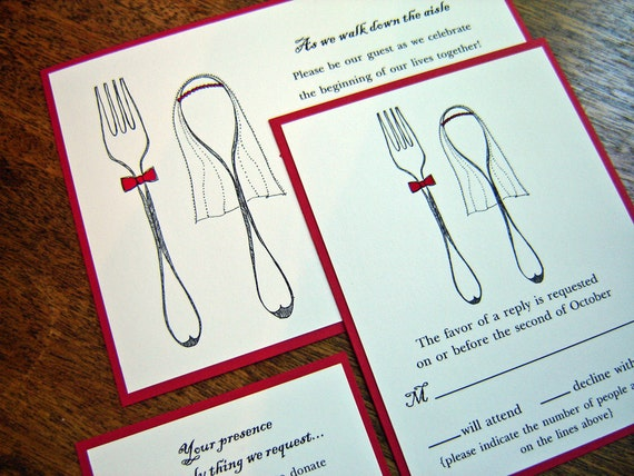 Reserved for Judith - Dig Into Happiness - Wedding Thank you notes