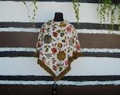 Fun Floral Poncho
