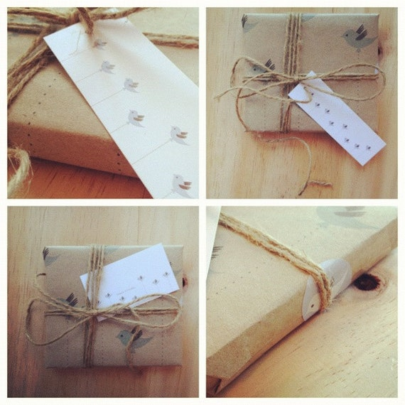 Gift Wrap Kit - Blue Bird