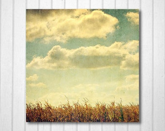 BUY 2 GET 1 FREE Nature Photography, Corn Field Decor, Vintage Inspired Art, Fine Art Print, Autumn Decor, Wall Decor, Home Decor, Print