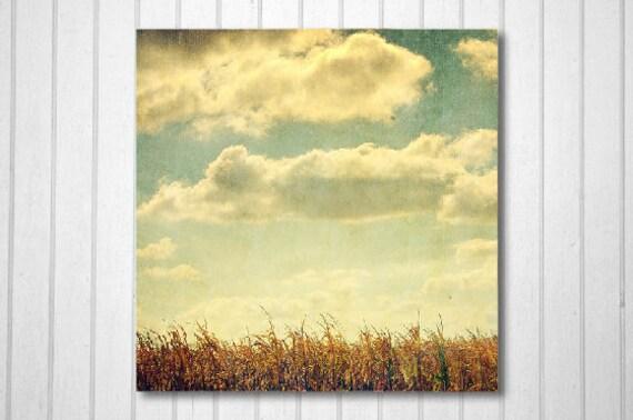 BUY 2 GET 1 FREE Nature Photography, Corn Field Decor, Vintage Inspired Art, Fine Art Print, Autumn Decor, Wall Decor, Home Decor, Print