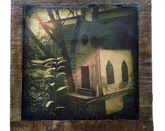Anniston (throve) photo collage Framed