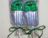 Oscar the Grouch lollipops