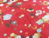 ON SALE.Moda Momo Wonderland   Tweedle Dum  fabric--- Tomato