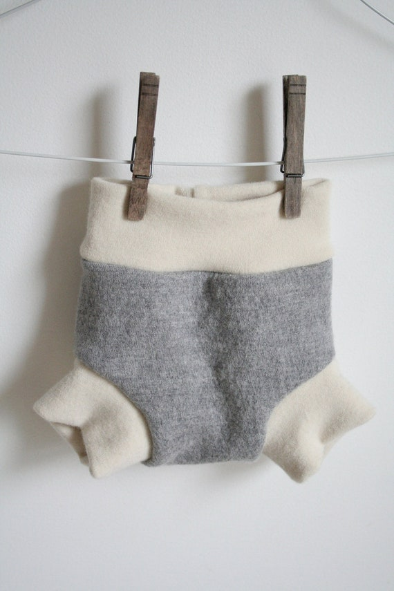 small soaker -- wool nappy cover -- pull on -- leak proof and bomb proof two full layers