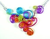 Funky Looped  Adjustable Necklace