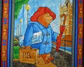 Paddington Bear Travels panel, Quilting Treasures