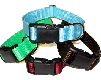 "1"" Solid Nylon Dog Collar Buckle"