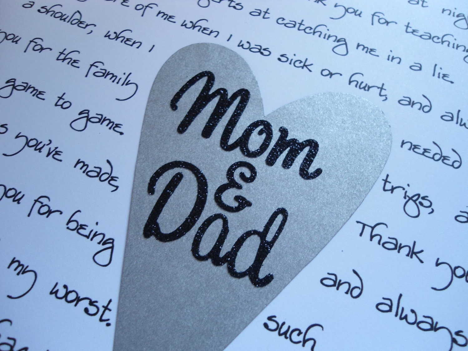 Thank You Gifts For Mom And Dad : parents thank you gifts stepparent thank you grandparents